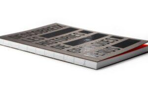 Llibreta en rústica cosida fil vist