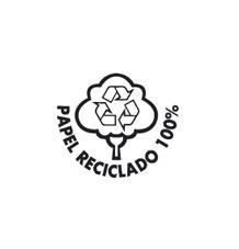 Papel reciclado 100%